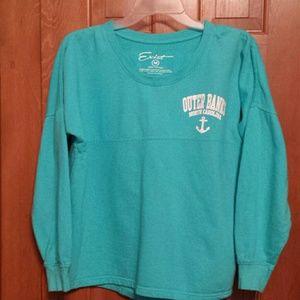 Tops - Turquoise OBX North Carolina shirt sz M